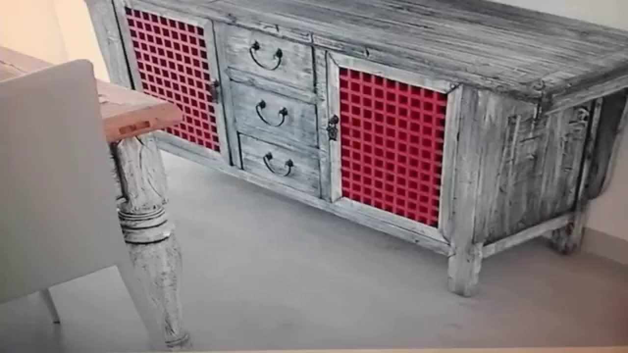 Pátina en mueble.. (el pintor) - YouTube