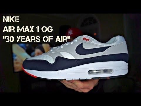 nike air max 1 anniversary 30 years of air