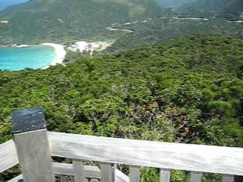 照山展望台からのパノラマ風景