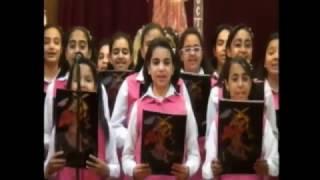 كورال ابى سيفين وعظة ابونا  أرميا بولس 3-3-2017