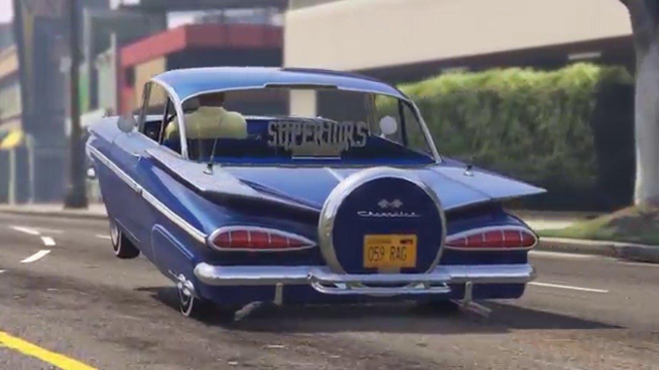 Real Life Lowriders of GTA V ft. Superiors OC Car Club - YouTube