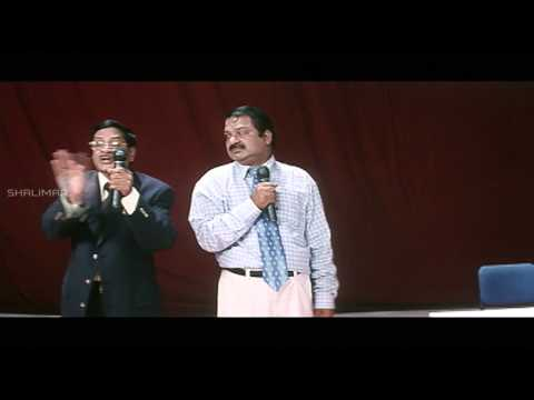 Nuvvu Nenu Movie || Dharmavarapu Translate MS Narayana Speach Hilarious Comedy Scene