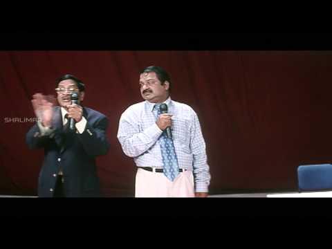 Nuvvu Nenu Movie || Dharmavarapu Translate MS Narayana Speach Hilarious Comedy Scene