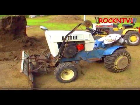 Sears Suburban Level Ground Garden Tractor Dozer