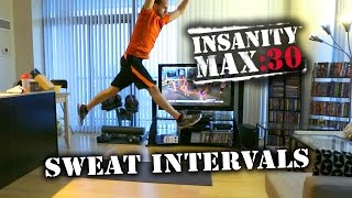 Insanity Max :30 Day 3 - Sweat Intervals Review  - Tony F Fitness