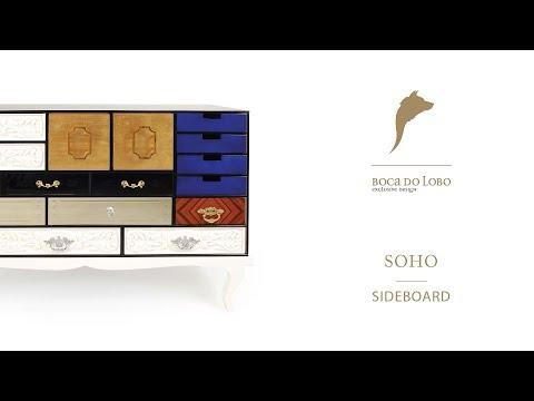 The Soho Sideboard by Boca do Lobo