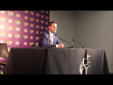 Will Wade recaps LSU's loss to Florida