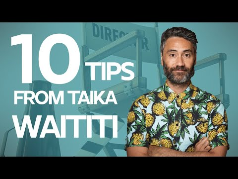 Interview with Taika Waititi (director of Jojo Rabbit) about authors and writing work