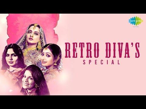 Weekend Classic Radio Show| Retro Divas |रेखा, श्री देवी, माधुरी, हेमा के किस्से व् गाने| HD Songs