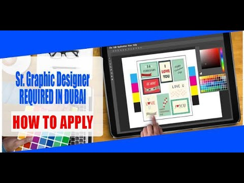 Sr. Graphic Designer REQUIRED IN DUBAI| How to Apply ...