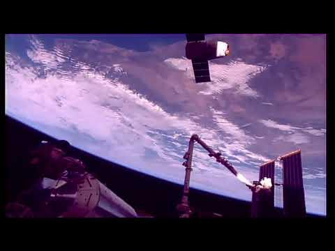 HAARP en España visto desde la ISS