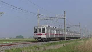 東武10030系11452F栗橋~新古河通過