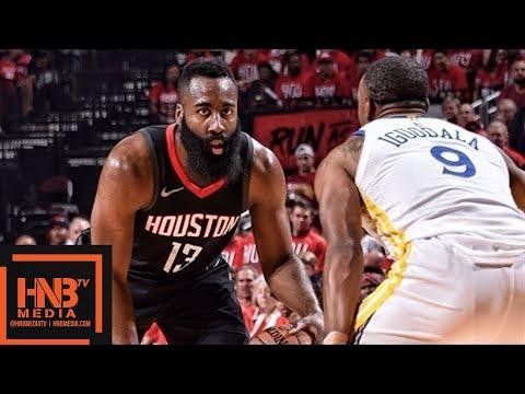 e72e6863daf Golden State Warriors vs Houston Rockets Full Game Highlights   Game 1    2018 NBA Playoffs