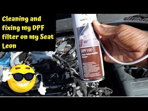 Cleaning my DPF filter and price breakdown on the Seat Leon