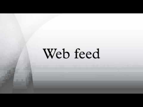 Web feed
