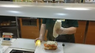 Ordering A Really Gross Subway Sandwich!