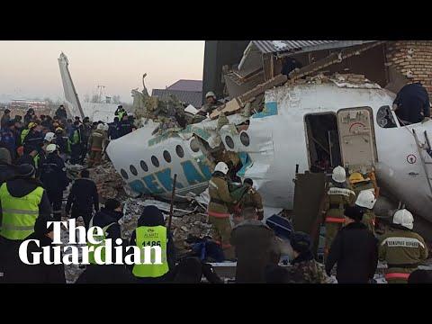'It was a nightmare': survivor reacts to Kazakhstan plane crash
