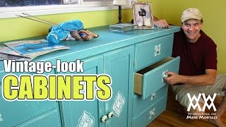 Save Money By Making Your Own Cabinets. You Can Do This!