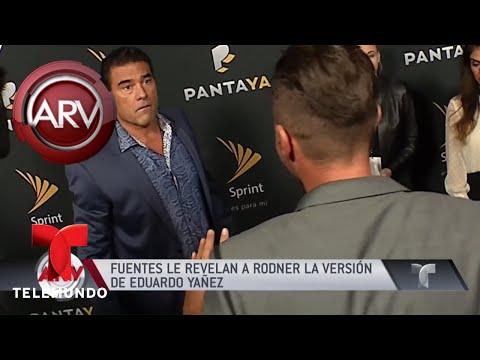 Fuentes revelan la versión de Eduardo Yañez en su pleito | Al Rojo Vivo | Telemundo