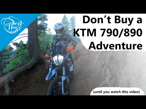 Don't buy a KTM 790 / 890 Adventure r or s until you watch this review