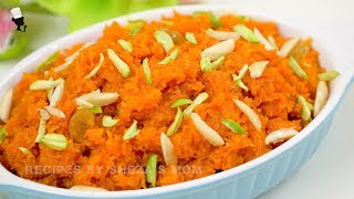 শাহী গাজরের হালুয়া | Gajorer Halua Recipe | Gajar ka halwa | Carrot Halwa Recipe | Dessert Recipe