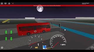 Roblox London Hackney & Limehouse bus Simulator E200 (euro 6) CSG CTP on Route 309 Long Diversion