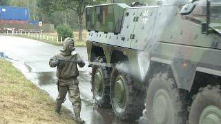 ILÜ: ABC-Trupp versorgt verletzte Soldaten - Bundeswehr