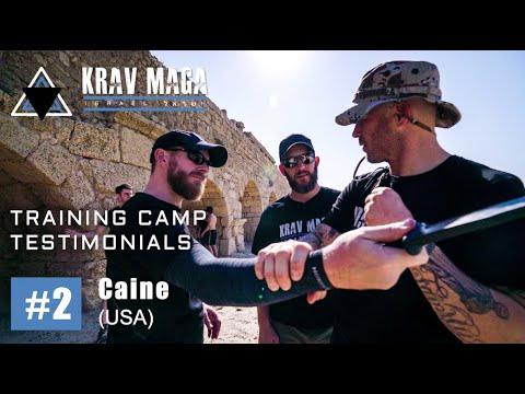 Testimonial: Caine (USA) | Krav Maga Israel Training Camp
