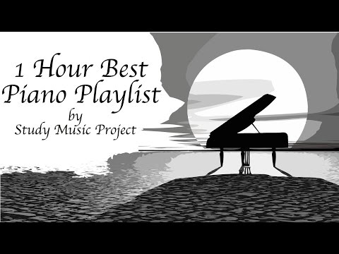 1 HOUR - NEW Piano Music for Concentration and Studying Playlist (from Study Music Project)