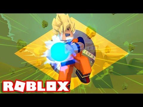 RETORNO do DRAGON BALL BRASILEIRO no ROBLOX !!