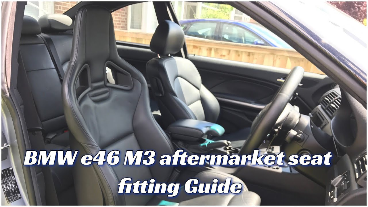 Bmw E46 M3 Aftermarket Seat Fitting Guide Recaro Goodness Youtube