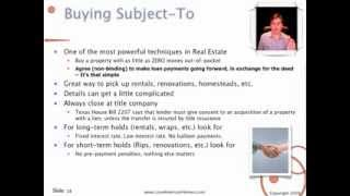12 Ways On Buying and Selling Houses for Profit -- Part 2 of 2