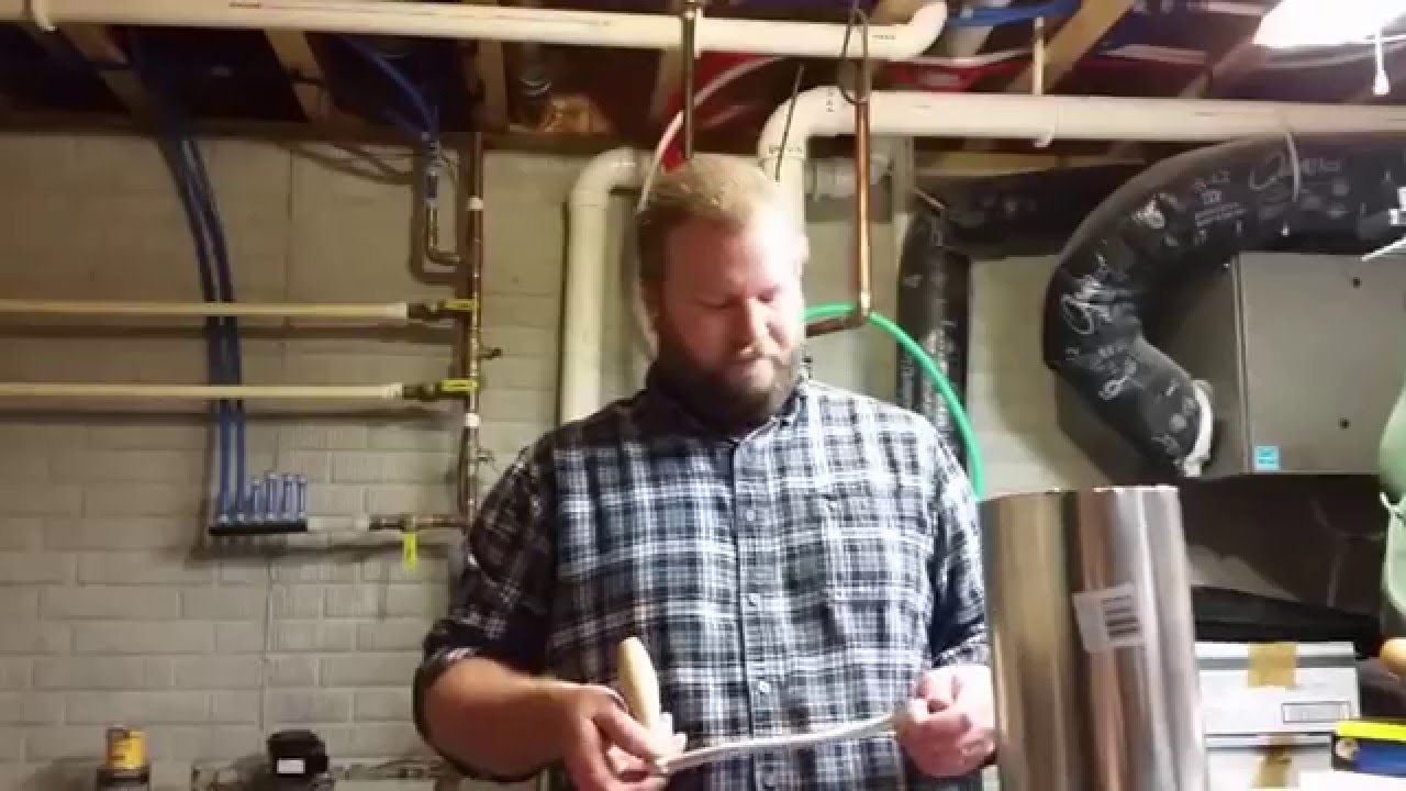 Crushing Malt For Brew Day with a Corona Mill