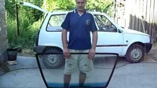 видео Как вставить стекло в автомобиль?