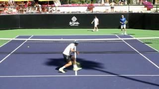 【テニス・ブライアン兄弟】世界最強のダブルスの基本に忠実なボレスト練習