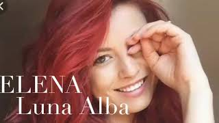Elena Gheorghe - Luna Alba VERSURI - Lyric Video