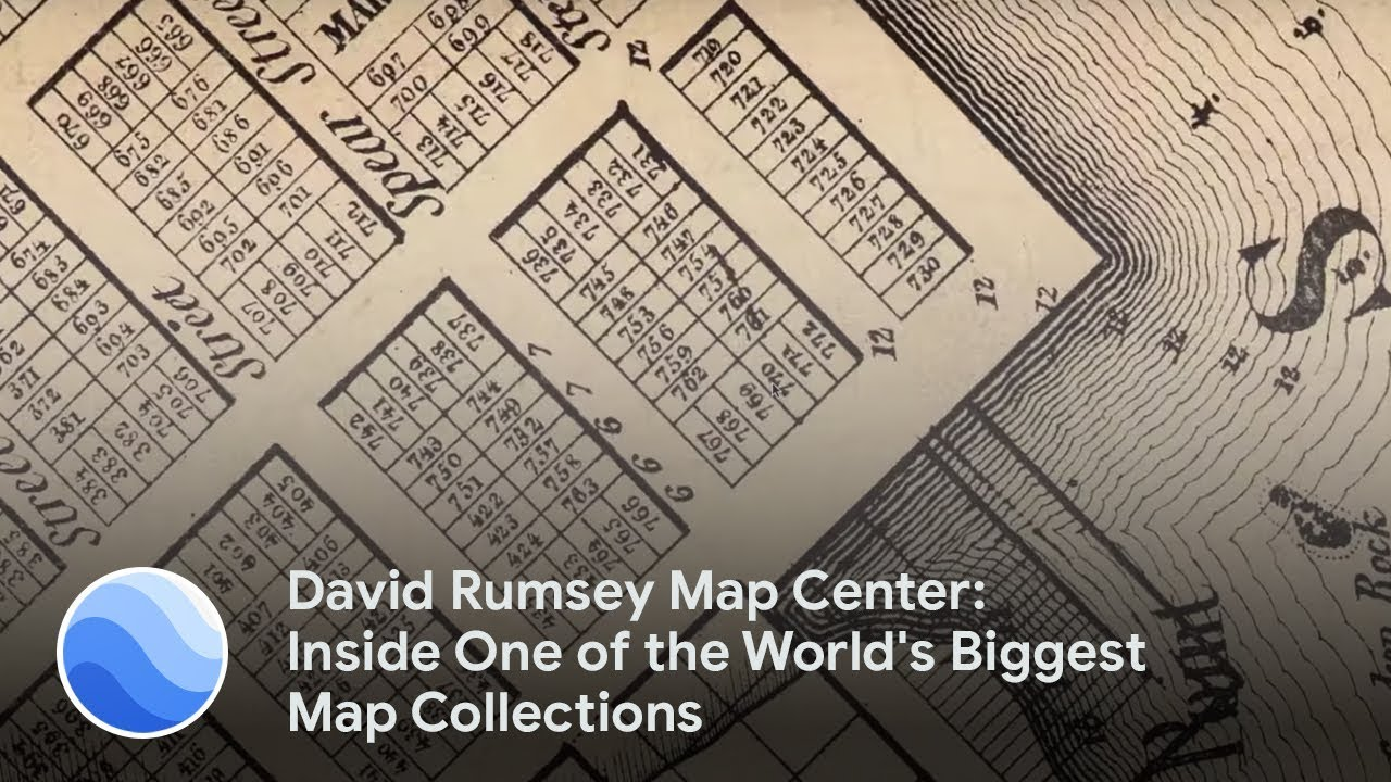 David Rumsey Map Center: Inside One of the World's Biggest Map ... on