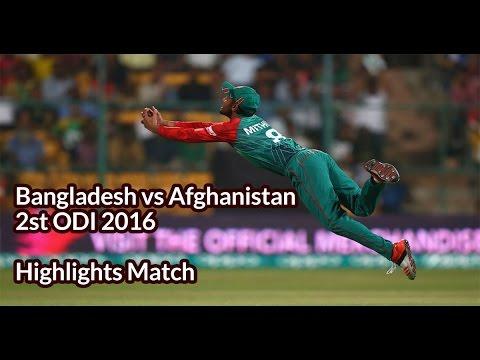 Bangladesh vs Afghanistan 2st ODI 2016 Highlights Match   Bangladesh vs Afghanistan