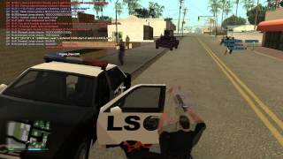 [LS-RP] LSPD We Got 4 v 1ed Shotgun God!!