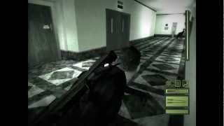 Splinter Cell - Mission 4 CIA HQ - Stealth Walkthrough HD