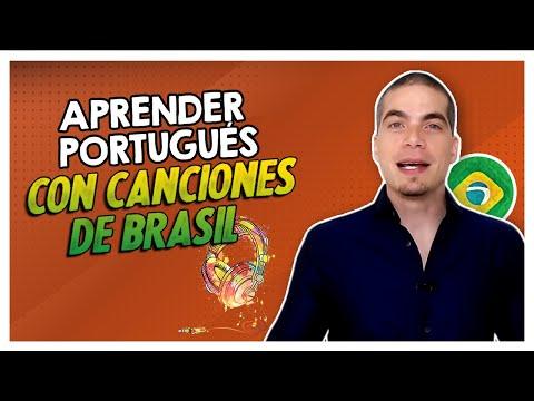 🎧 Aprender Portugués con canciones de Brasil  - Expresiones y Palabras