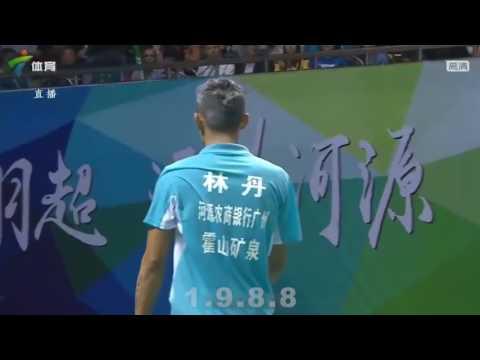 Lin Dan vs Qiao Bin - Crazy of Shots (China Badminton Super League 2017).mp4.
