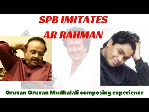 SPB imitates AR Rahman