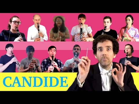 Candide Overture by Leonard Bernstein with the CNSMDL clarinet class !