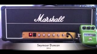 Pickups Comparison 2: PRS HFS vs. Seymour Duncan SH-4 (Marshall JMP 2203)