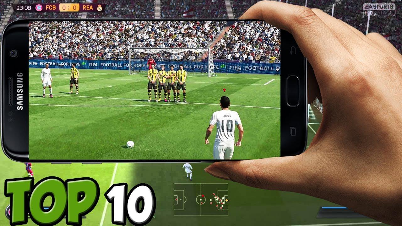 Top 10 Mejores Juegos De Futbol Para Android 2017 Youtube