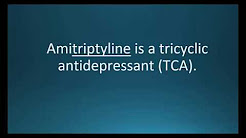 How to pronounce amitriptyline (Elavil) (Memorizing Pharmacology Flashcard)