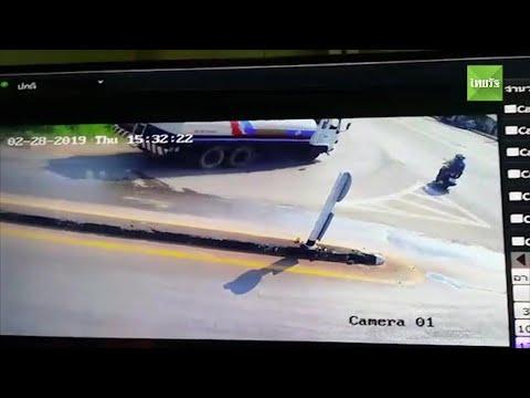 2 ผัวเมียอิตาลีตายสยอง รถน้ำมันลงเขาเบรกแตก ทับเละติดถนนที่ชุมพร | Thairath online