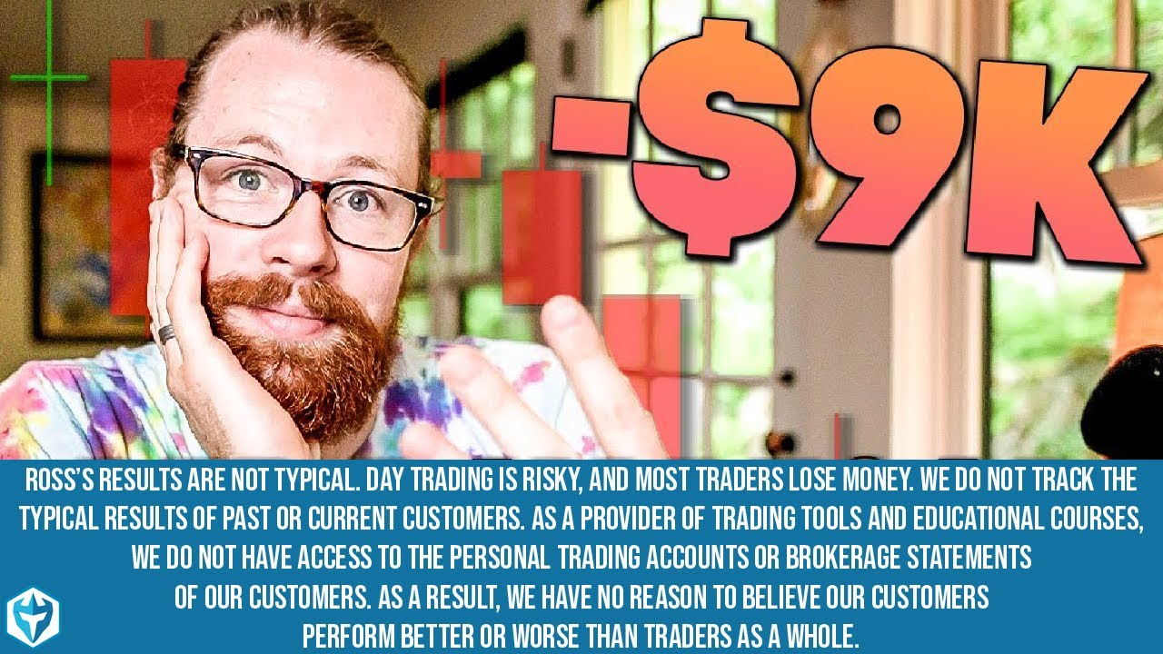 Red Day Recap Day 3 -$9k | Recap by Ross Cameron