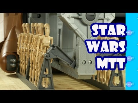 Massive Star Wars MTT Toy Review Unboxing